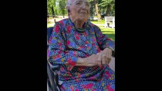 99 Year Old Granny Singing