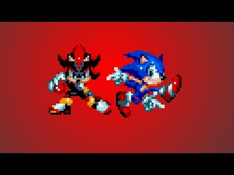 Edgy Shadow and Cooler Senic Team Up   Sonic Mania Mods