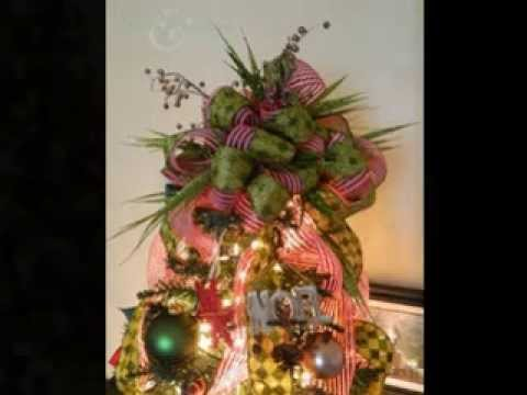 DIY Christmas tree topper ideas - YouTube