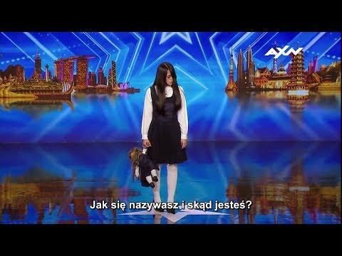 Uciekła z horroru, by wystąpić w azjatyckim Mam Talent
