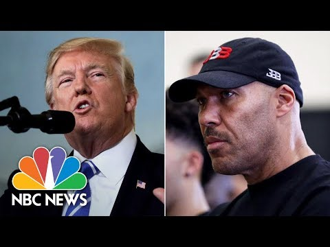 A Brief History Of President Donald Trump's Feud With LaVar Ball | NBC News