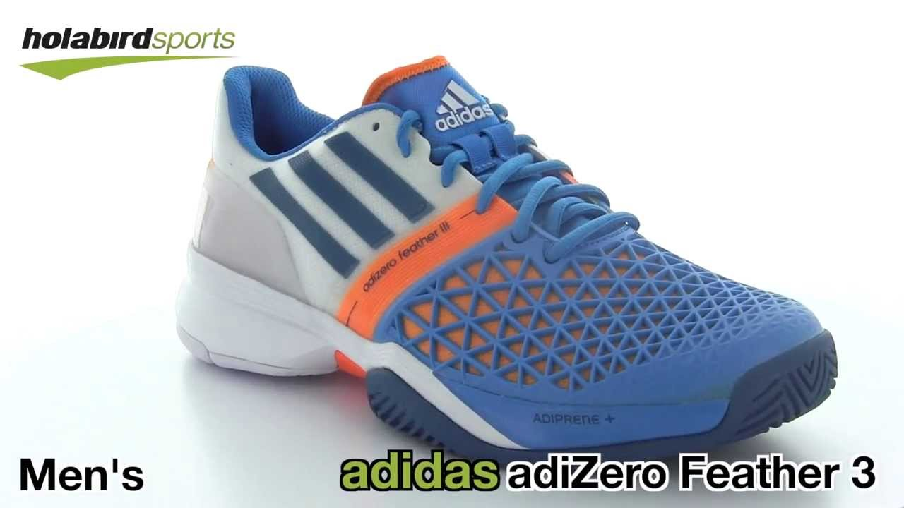 info for 79b1a 76e9b ... netherlands tennis shoe review adidas adizero feather 3 and tempaia 3  youtube f2dbe 3ce47