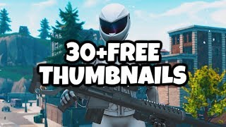 30 + FREE 3D Fortnite Thumbnails - HIGH QUALITY 🔥 - #Fortnite #FortniteThumbnails