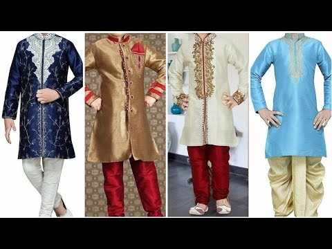 Latest kids Sherwani Design || Indian wedding kid's outfit 2019