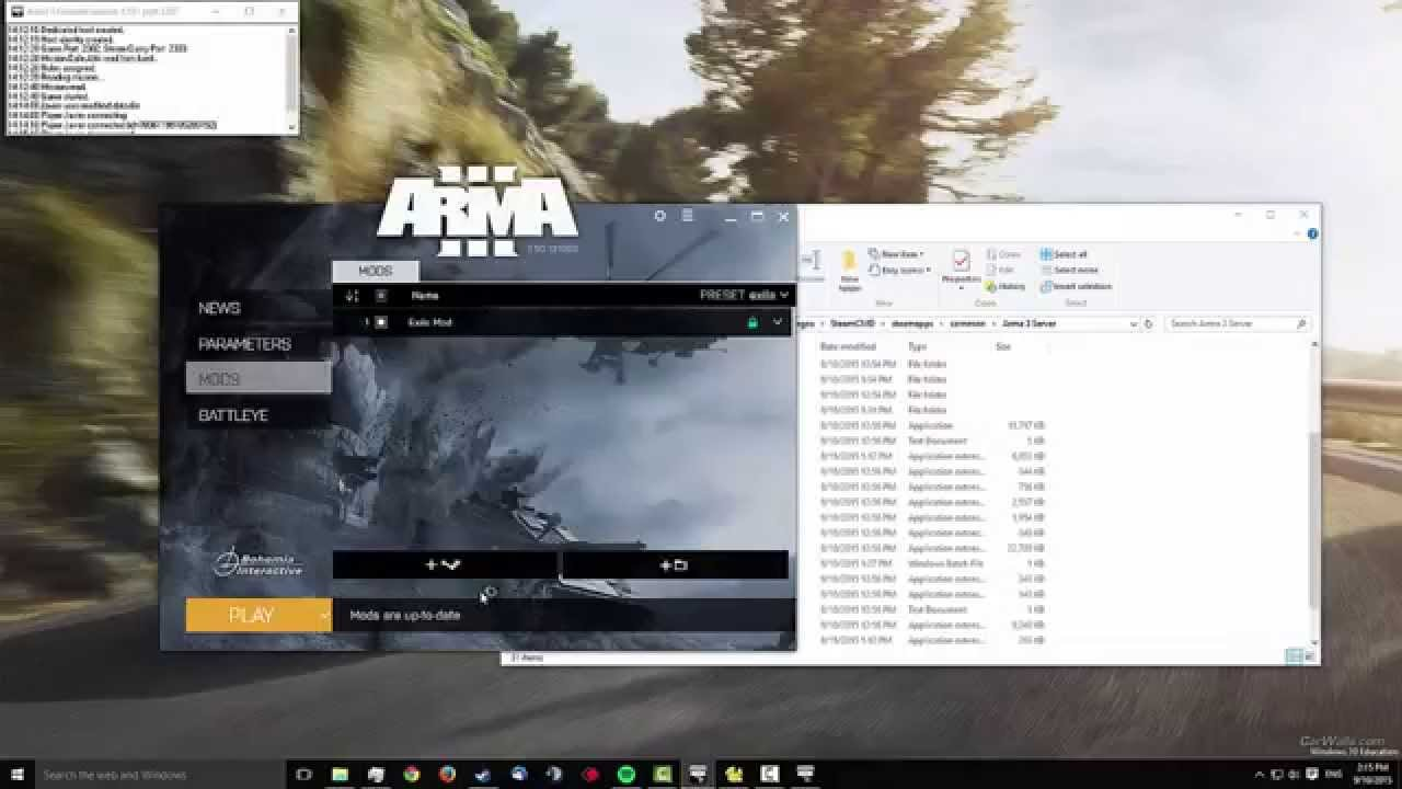 Arma 3 creating a dedicated server u