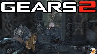 Gears of War 2 Xbox One - Around the World Ruins! (Multiplayer Gameplay)