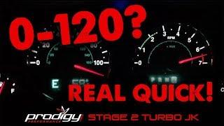Prodigy Performance Turbo 3.6 JK Stage 2 Top Speed Run