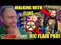WWE SuperCard Season 4! CLAIMING WM34 ELIAS CARD, WM34 RIC FLAIR PRO AND WM34 PLATINUM PACK OPENING!