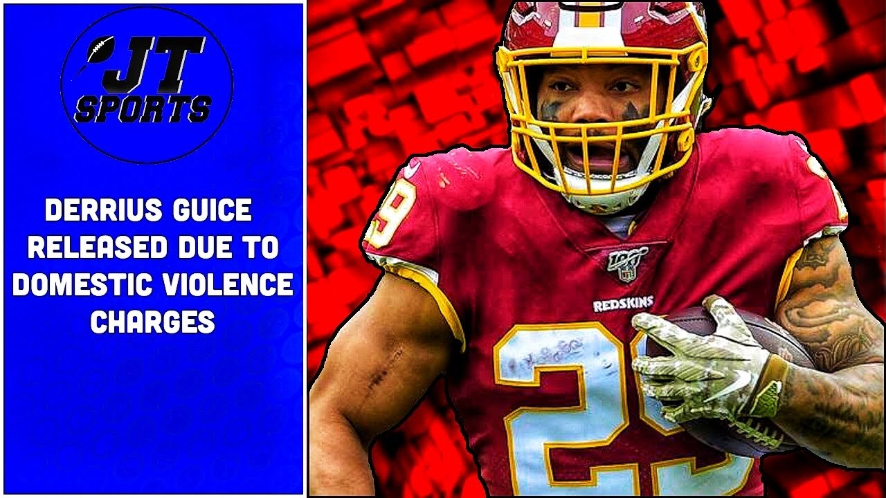 Washington NFL team releases Derrius Guice after arrest for felony ...