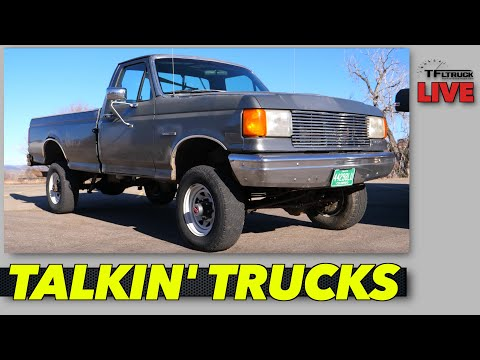 Here S Why This Old 1989 Ford F 350 Is Or Isn T Better Than A New Truck Talkin Trucks Ep 76 Youtube