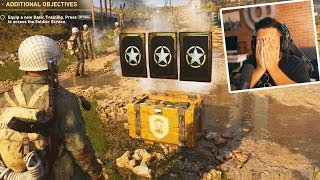 OPENING MY FIRST SUPPLY DROPS in Call of Duty World War 2 Headquarters