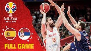Spain hand Serbia a tough defeat! - Full Game - FIBA Basketball World Cup 2019