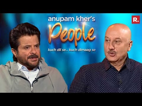 Anupam Kher's 'People' With Anil Kapoor | Promo