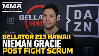 Bellator 213: Neiman Gracie Says 'Everything is Aligning For Me To Be A Champion' - MMA Fighting