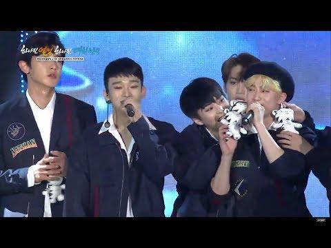 171101 All stars at PyeongChang 2018 Olympics G-100 K-Pop Concert!