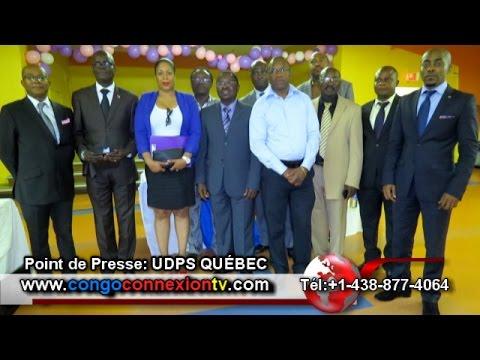 POINT DE PRESSE DE L'UDPS CANADA SUR LE DIALOGUE