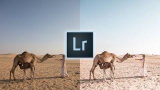 How to Edit Like @topolindra Instagram Lightroom Editing Tutorial | Travel Desert Photo Edit