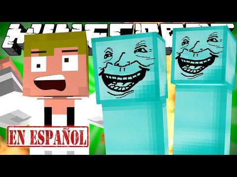 SI LOS CREEPERS ESTUVIERAN HECHOS DE DIAMANTE - Minecraft