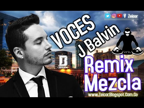 Voces para REMIX y MEZCLAS de J BALVIN (SAMPLES)