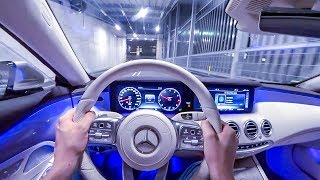 2019 Mercedes Benz S 560 Coupé (469PS) NIGHT POV DRIVE Onboard (60FPS)