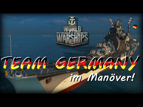 World of Warships - Team Germany im Manöver [ deutsch | gameplay ]