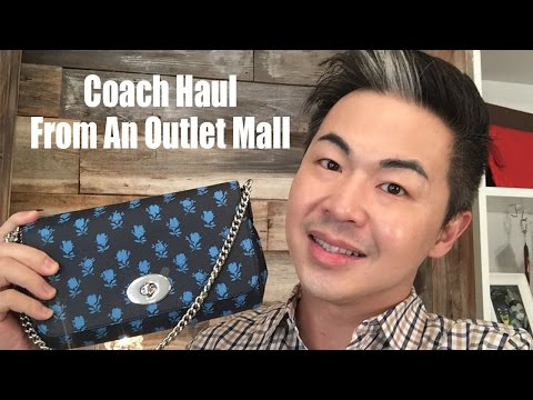 Coach Haul Outlet Mall
