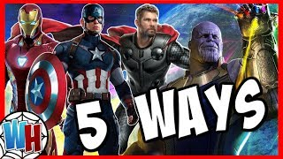 5 Ways Avengers Endgame Could End!