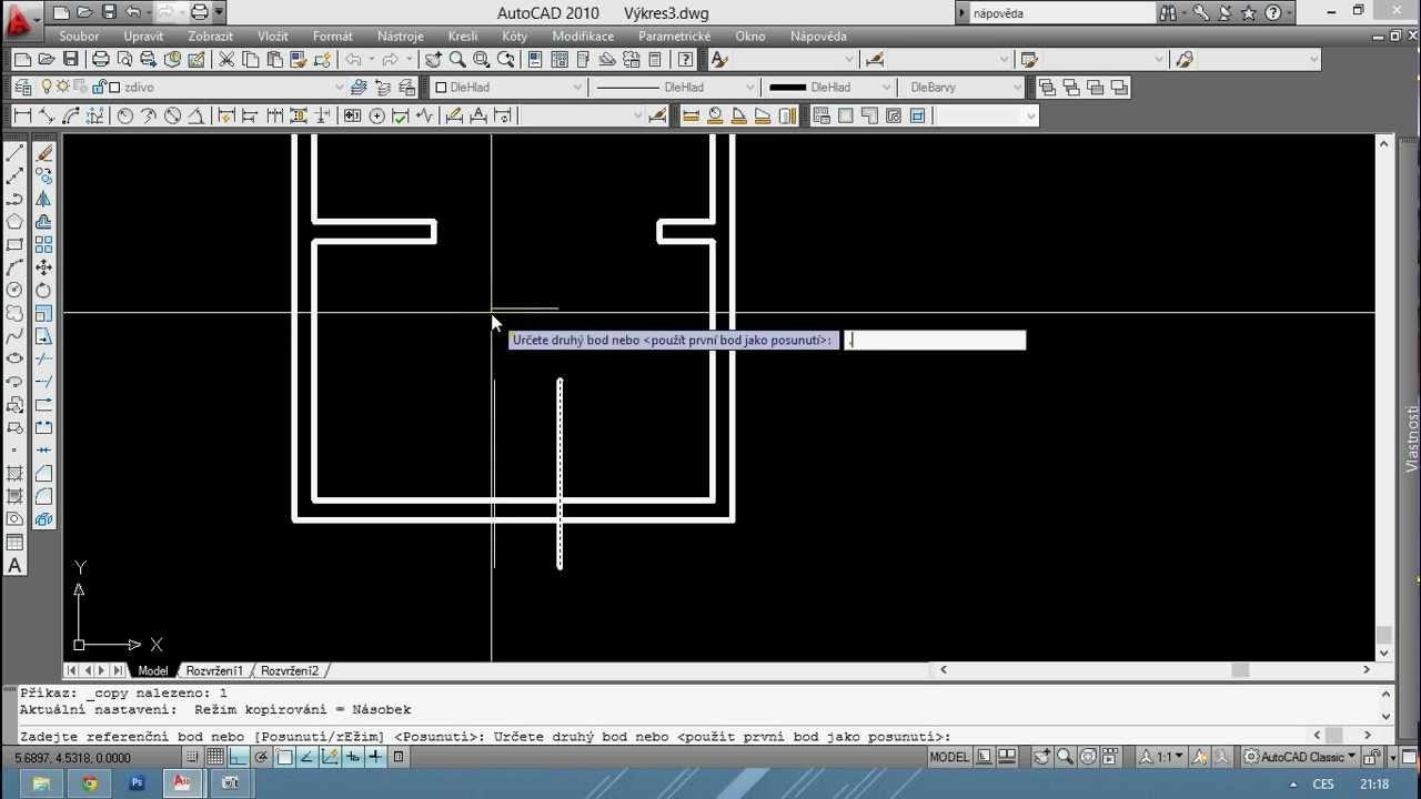 autocad z klady r sov n youtube rh youtube com AutoCAD Manual Book AutoCAD Instruction Manual