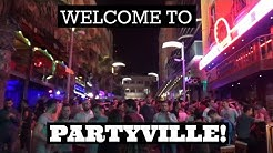 WELCOME TO PARTYVILLE! Paceville Nightlife - St Julian's Malta 2017