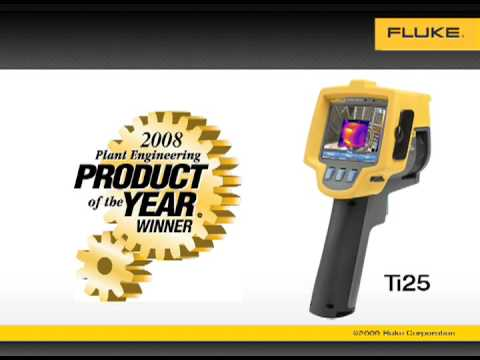 Fluke Ti25 is Plant Engineering's Product of the Year!