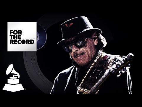 """Carlos Santana's """"Smooth"""" GRAMMY Wins 