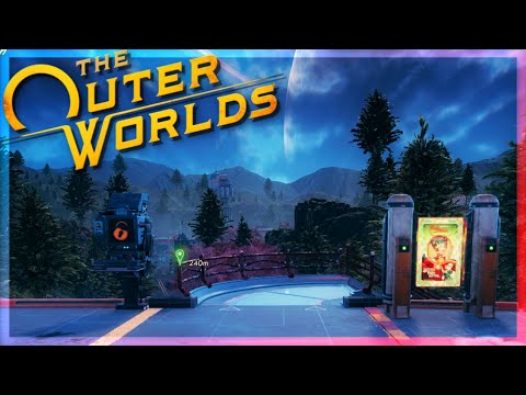 We're Off To Roseway | 4K | The Outer Worlds #5