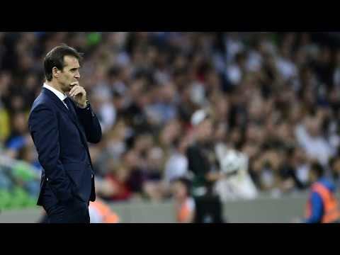 World Cup 2018: Spain sacks its coach Julen Lopetegui two days before the opening game