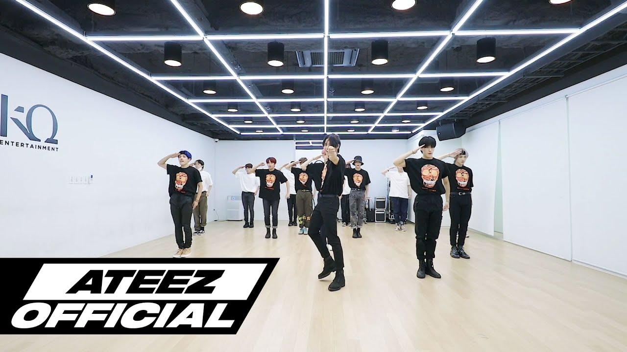 ATEEZ(에이티즈) - 'THANXX' Dance Practice