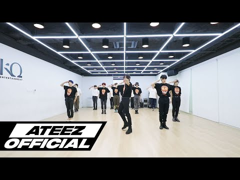 ATEEZ(에이티즈) - 'THANXX' Dance Practice