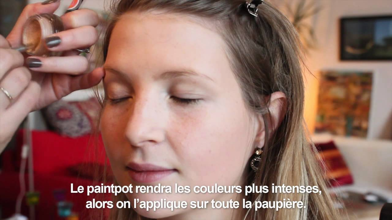 Maquillage ann es 60 le look swinging london youtube - Maquillage annee 60 ...