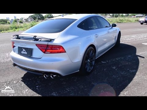 Detail Review of Audi A7 3.0 V6T Armytrix Valvetornic Exhaust & APR Remapping (English Subtitles)