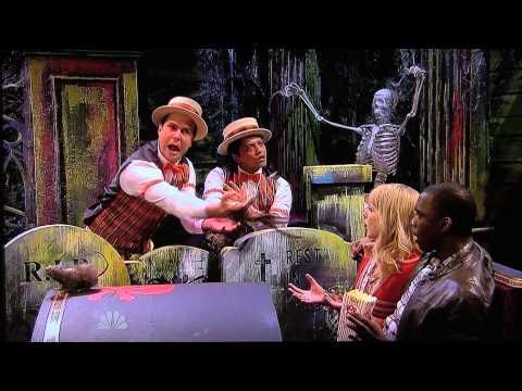 Bruno Mars on a Halloween skit