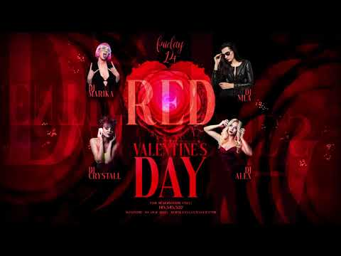 Red Valentines Day After Effects Template
