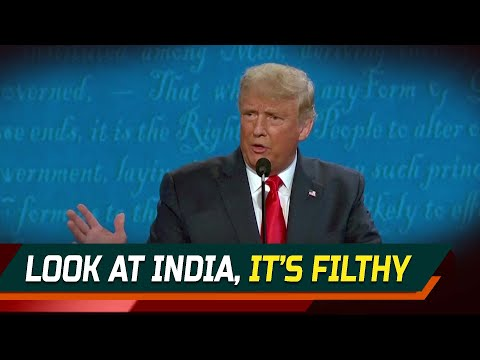 Look at India, it's filthy: Donald Trump on air pollution