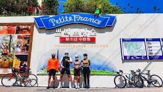 21.5.2.일요일 쁘띠프랑스호명산 투어라이딩 자전거동…