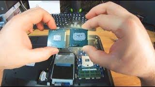 Multiplico la potencia de mi portátil por poco dinero!  (Cambiar de procesador)