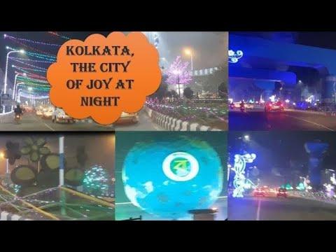 New Town   Saltlake   Bengal Global Business Summit 2018   Decoration at Night