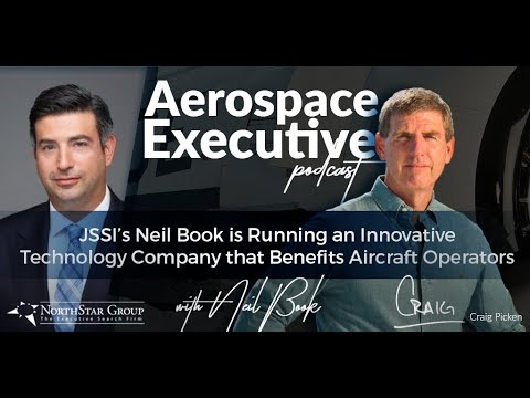 JSSI's Neil Book is Running an Innovative Technology Company that Benefits Aircraft Operators
