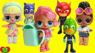 PJ Masks Heroes Vs. Villains LOL Surprise Dolls Limited Edition Treasure Toy Video
