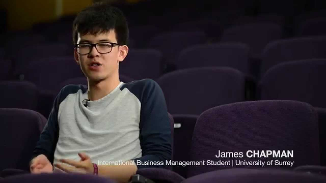 Why Study International Business Management At Surrey Youtube