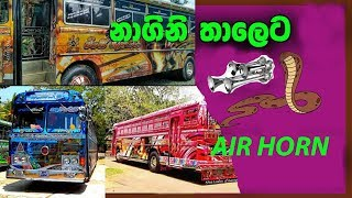 Nagini Bus Horn,Nagini 2 Bus Horn and Dham rajini bus Horn...