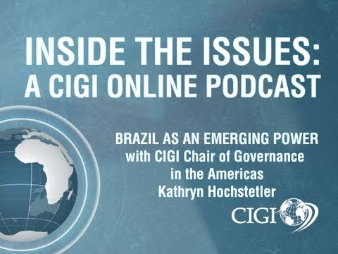 """Inside the Issues Ep. 3: """"Brazil as an Emerging Power"""""""