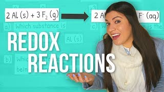 Oxidation and Reduction (Redox) Reactions Step-by-Step Example