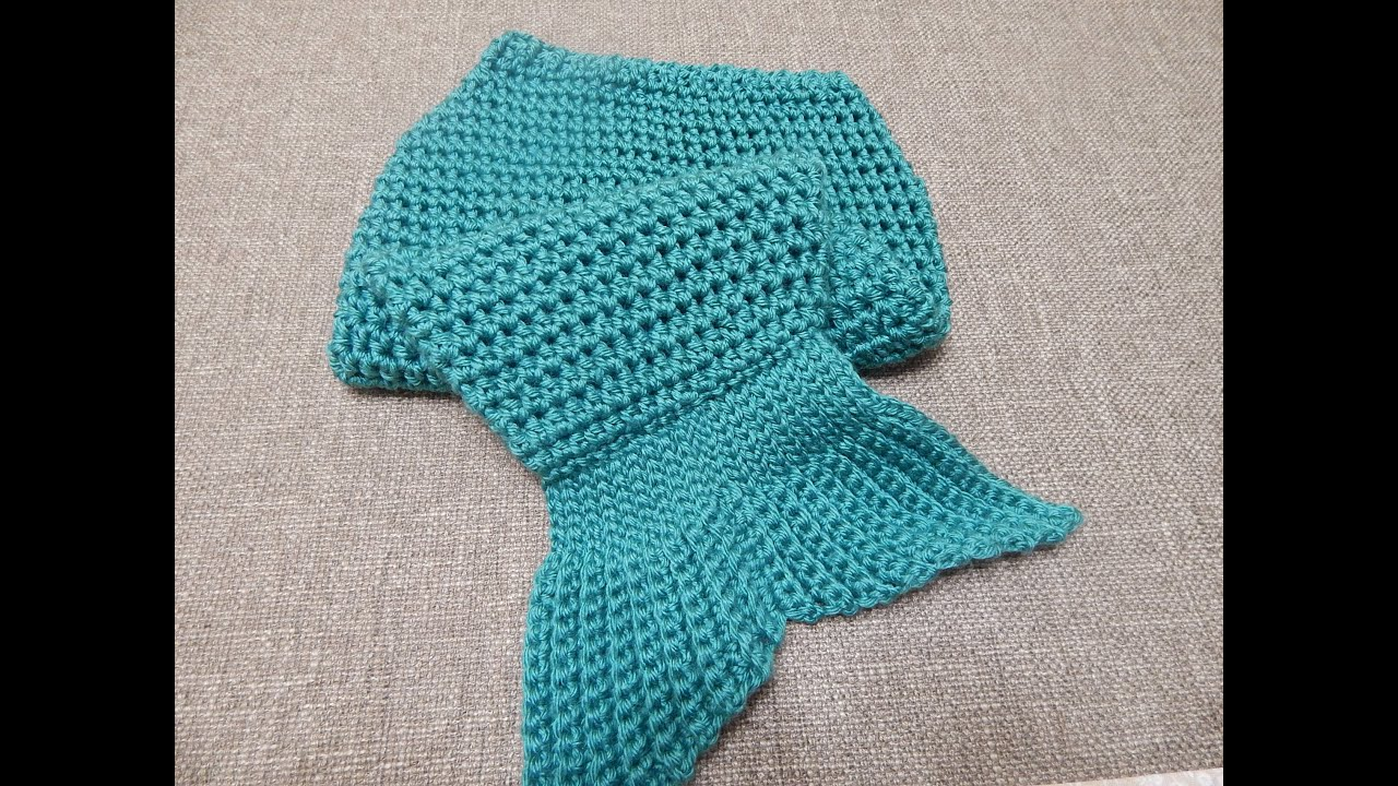 Crochet Youtube : Sirenita para Bebe Crochet - YouTube